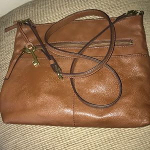 Fossil Vintage Leather PERFECT In And Out! Pockets